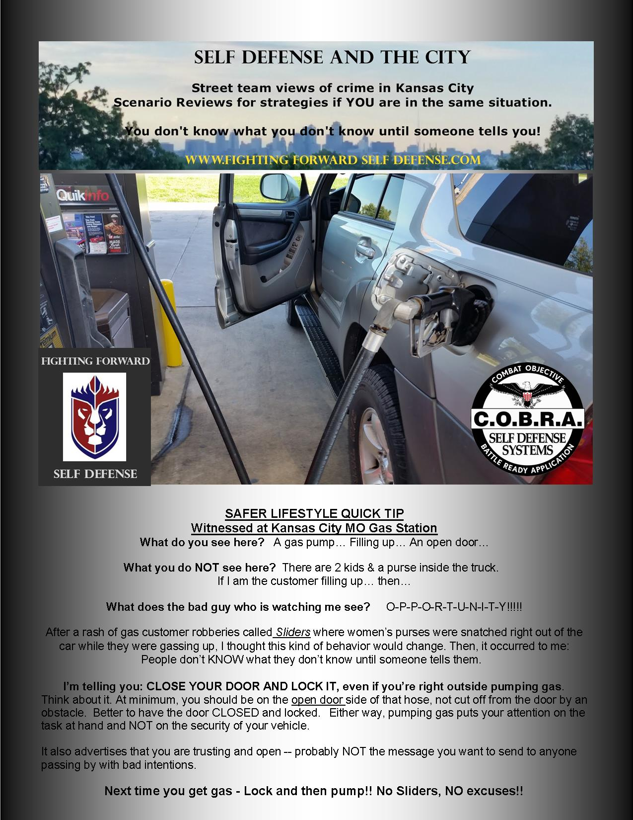 Take Me To The Closest Gas Station >> Are You Making This Mistake At The Gas Station Fighting Forward